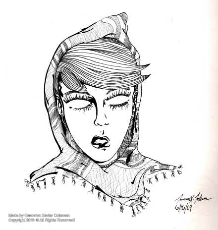 graphic_hood woman